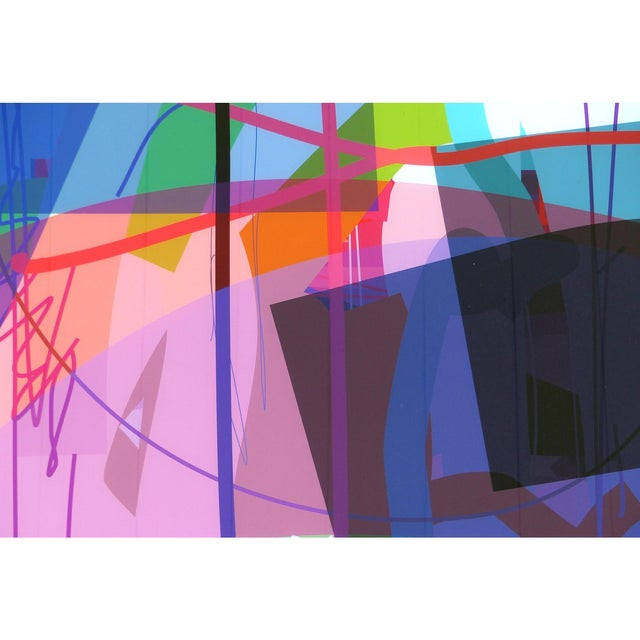 """Abstract Abstract Archival Digital Fine Art Print """"Treasure Island"""" by William P. Montgomery For Sale - Image 3 of 8"""