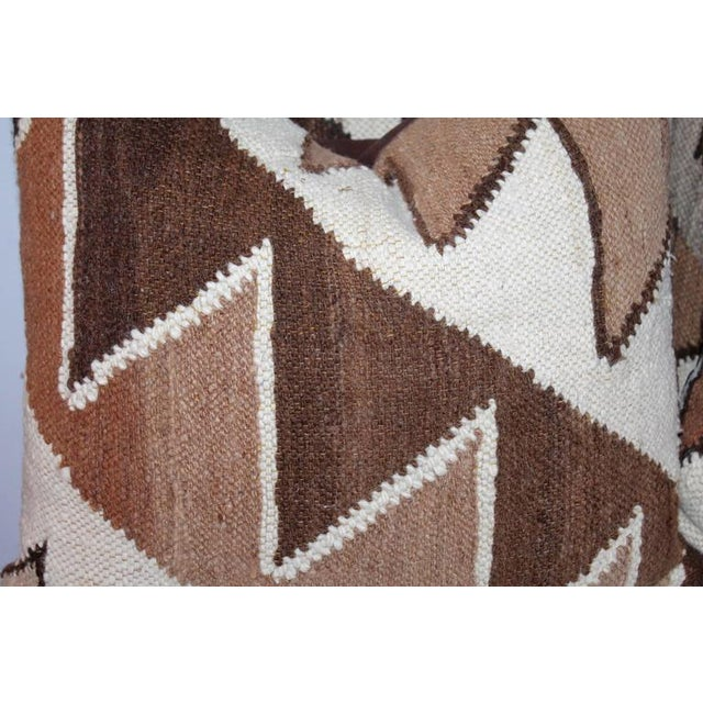 Geometric Handwoven Indian Weaving Pillows For Sale - Image 4 of 5