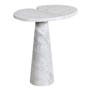 Angelo Mangiarotti Carrara Marble Table For Sale