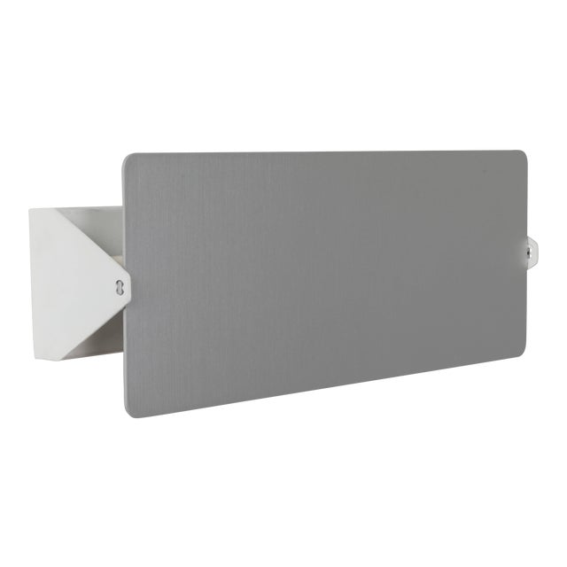 Charlotte Perriand 'Applique à Volet Pivotant Double' Wall Lights in Aluminum For Sale