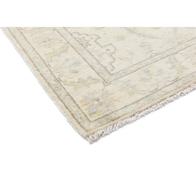 """New Oushak Hand Knotted Runner - 2'7"""" x 9'4"""" - Image 2 of 3"""