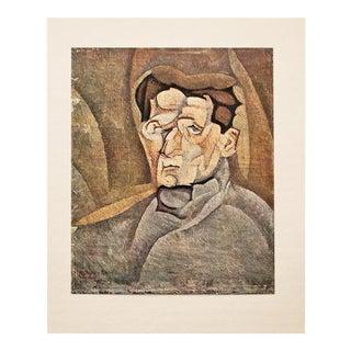 1947 Portrait of Maurice Raynal by Juan Gris, Original Parisian Lithograph For Sale
