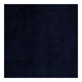 Mulberry Navy Velvet, Belgium - Multiple Yardage Available For Sale