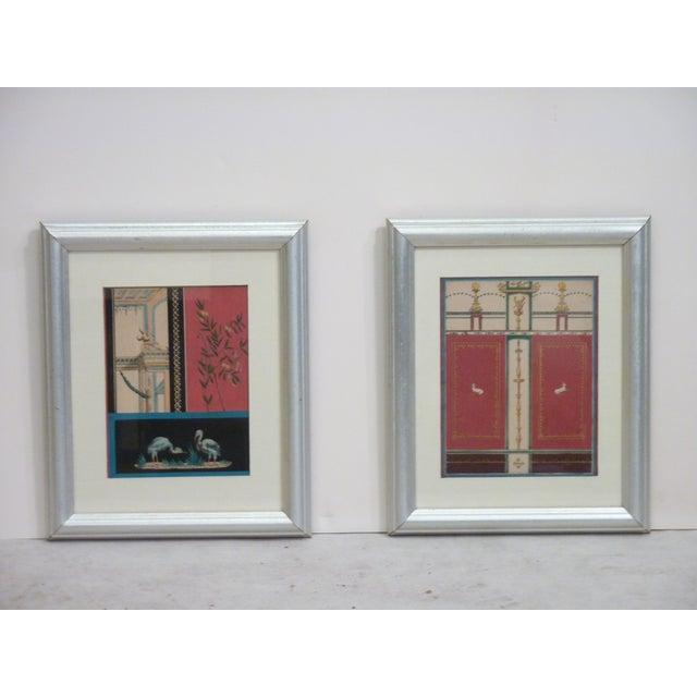 Grand Tour Pompeian Prints - A Pair - Image 2 of 4