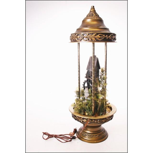 Mid Century Hollywood Regency Mineral Oil Rain Lamp - Image 8 of 11