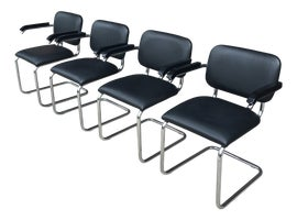 Image of Marcel Breuer Dining Chairs