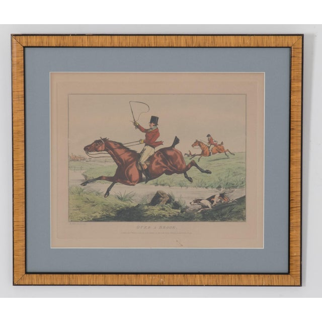 1825 English Hunting Prints by Henry Alken, London - Set of 6 For Sale - Image 4 of 12