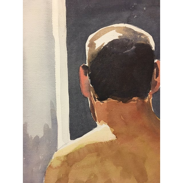 Male Nude Watercolor Study - Image 4 of 4