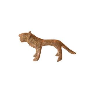 Vintage African Mini Copper Lion For Sale