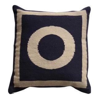 """Jonathan Adler Woven Letter """"O"""" Pillow"""