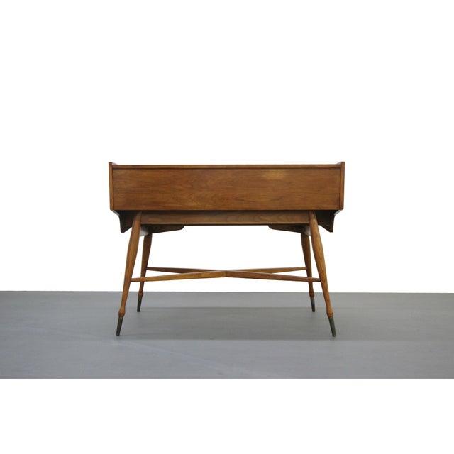 Vintage Hooker Mainline Mid-Century Modern Desk For Sale - Image 5 of 7