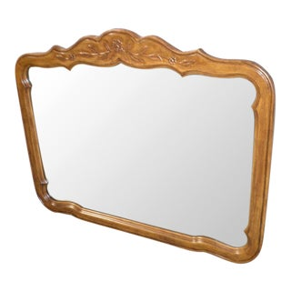 Vintage Drexel Country French Style Wall Mirror For Sale