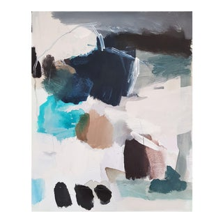 """Contemporary Abstract Acrylic on Streched Canvas Painting """"Stones"""" by Diana Krinninger For Sale"""