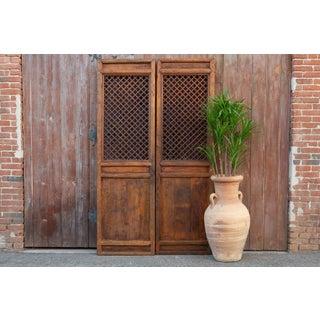 Antique Chinese Garden Lattice Door Preview