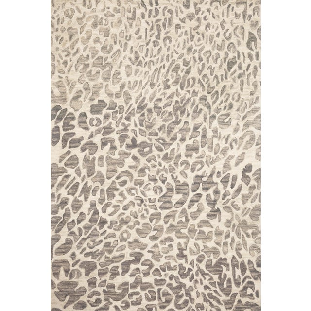 "Loloi Rugs Loloi Rugs Masai Rug, Gray / Ivory - 7'9""x9'9"" For Sale - Image 4 of 4"