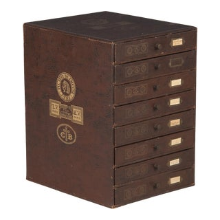 19th Century French Seamstress Storage Box For Sale