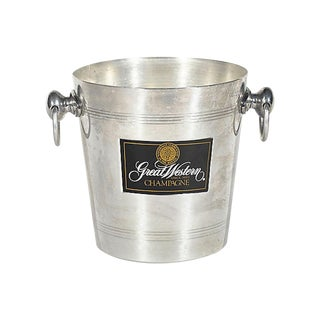 French Champagne Ice Bucket W/ Handles For Sale