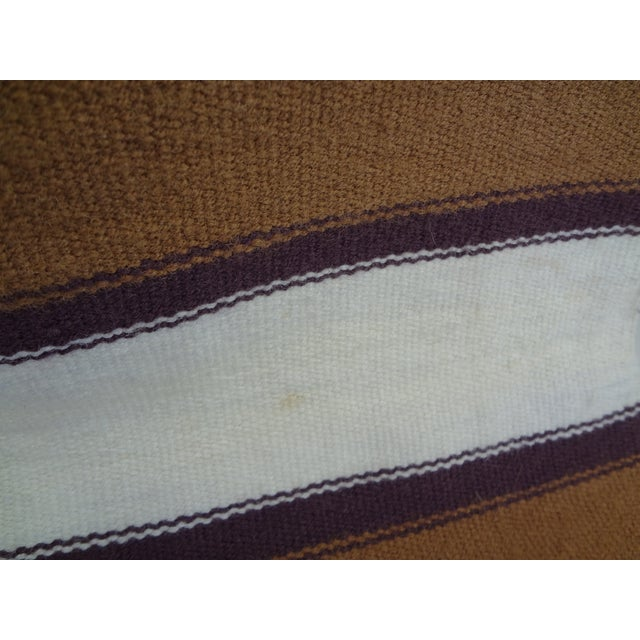 Hand Woven Chimayo Wool Runner - 1′6″ × 5′3″ - Image 5 of 6