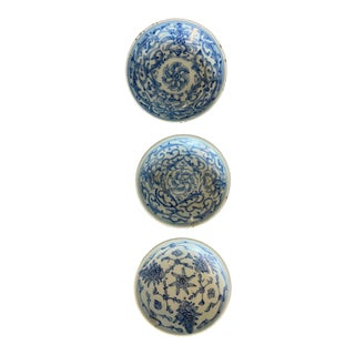 Chinese Mini Dishes - Set of 3 For Sale