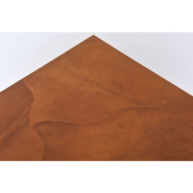 "1970s American Modern ""Goatskin"" Occasional Table, Karl Springer For Sale - Image 5 of 10"