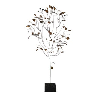Curtis Jere (1910-2008) Copper Metalwork Free Standing Tree C.1967 For Sale