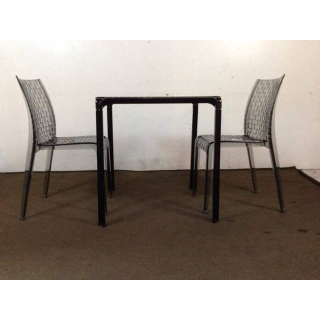 """Kartell """"Ami Ami"""" Table and Pair of Matching Side Chairs by Tokujin Yoshioka - Image 2 of 10"""