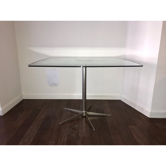 Square Glass Dining Table - Image 4 of 10