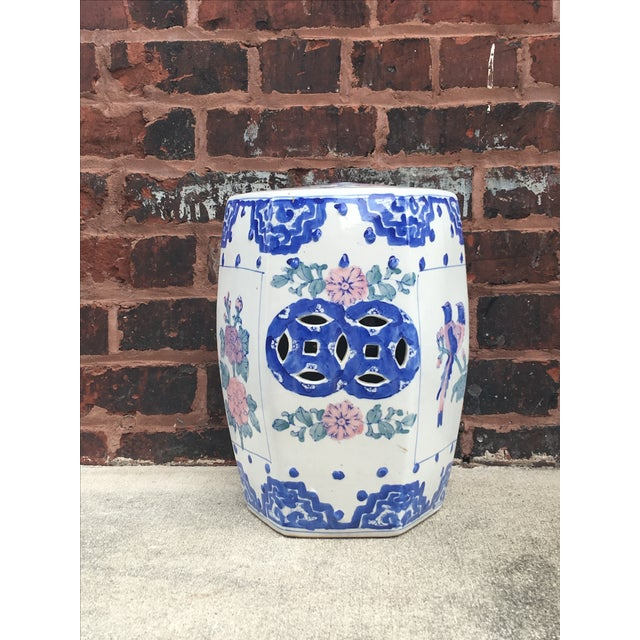 Vintage Chinoiserie Garden Stool - Image 3 of 3