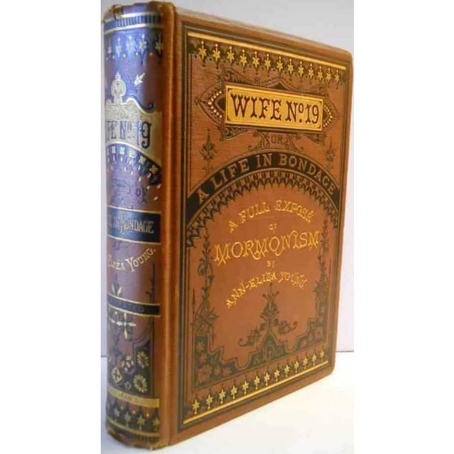 19th Century Antique Decorative Book, Ann Eliza Young's 'Wife No. 19' For Sale In San Francisco - Image 6 of 6