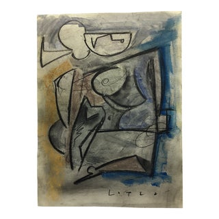 Lucia Lopez Cubist Painting For Sale