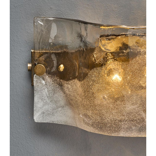 Set of Four Murano Glass Mazzega Sconces For Sale In Austin - Image 6 of 9