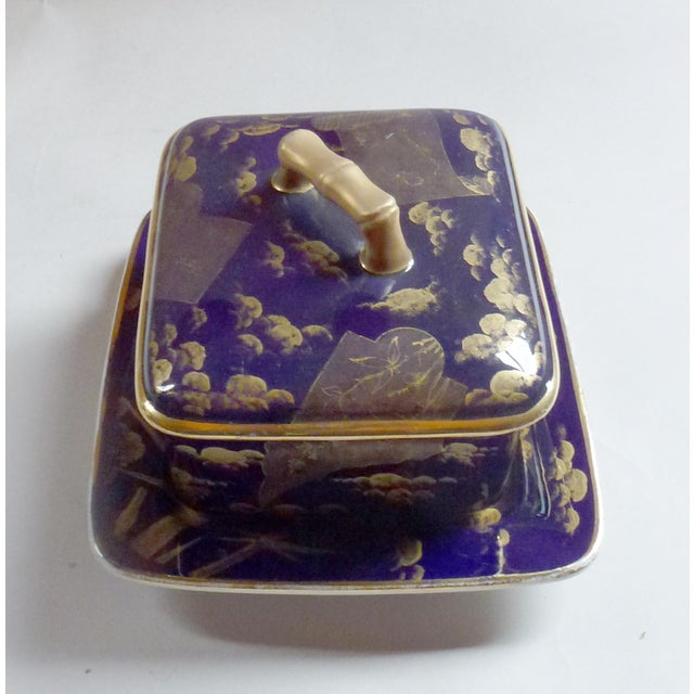 American Aesthetic Movement Porcelain Box by Ott & Brewer For Sale - Image 4 of 8