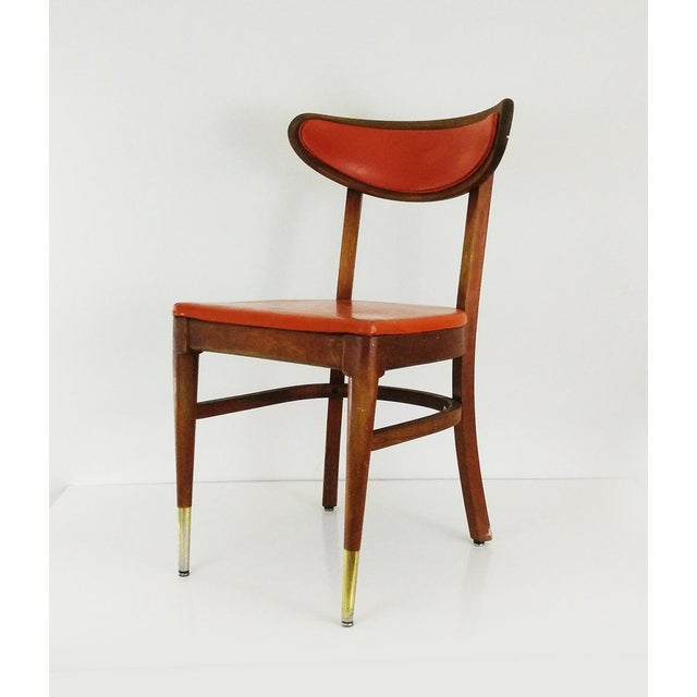 Vintage Bianco Chair One Danish Modern Dining By Manufacturing In St Louis