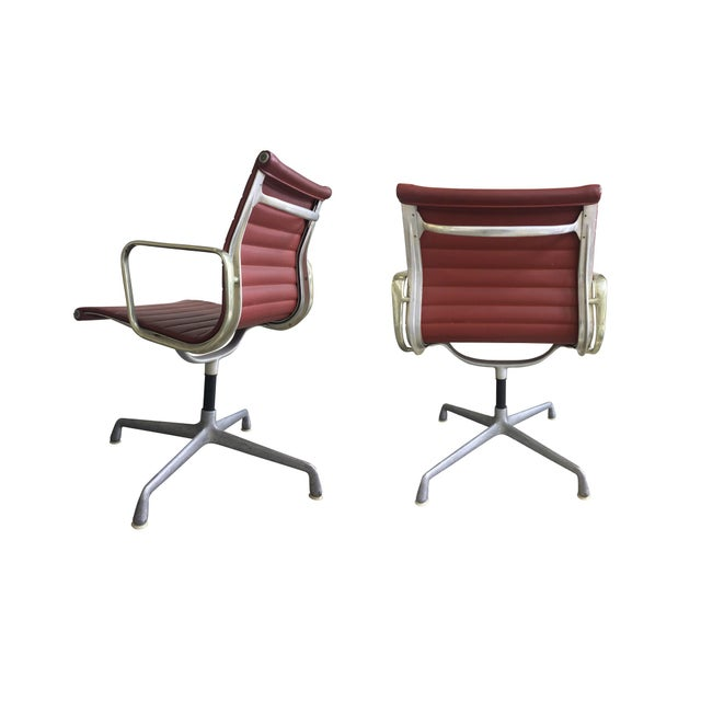 Mid 20th Century Eames Swivel Chairs for Herman Miller - a Set of 6 For Sale - Image 5 of 12