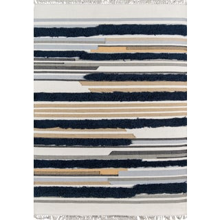 Novogratz by Momeni Indio Feliz in Navy Rug - 8'X10' For Sale