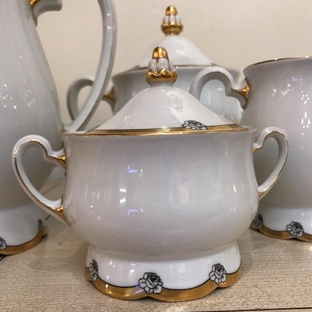 1920s Royal Tettau Coffee Tea & Dessert Set - 36 Pieces - Image 8 of 9