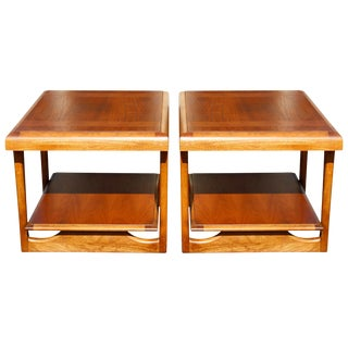 Mid Century Modern Side Tables by Lane - a Pair For Sale
