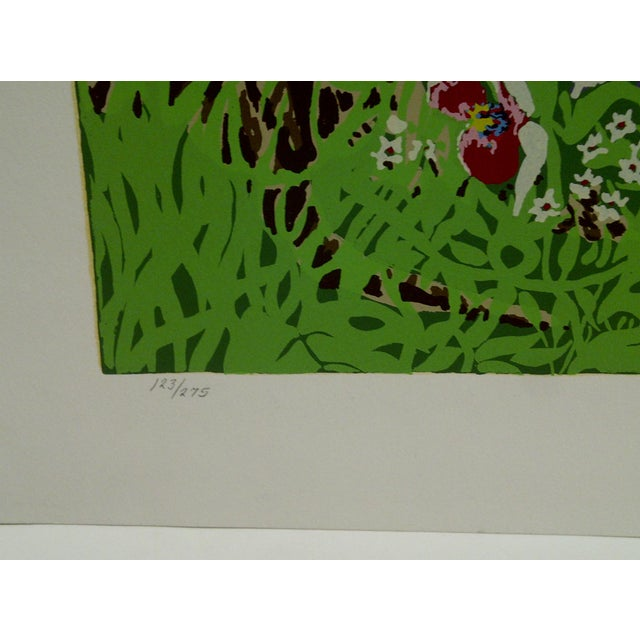 "Early 21st Century Miriam Ecker Signed Numbered (123/275) ""Enchanted Jungle"" Print For Sale - Image 5 of 8"