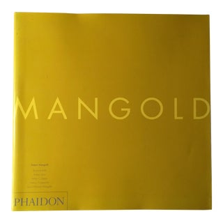 Robert Mangold Coffee Table Art Book For Sale