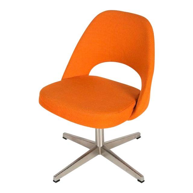 Eero Saarinen for Knoll X-base Swivel Side Chair For Sale