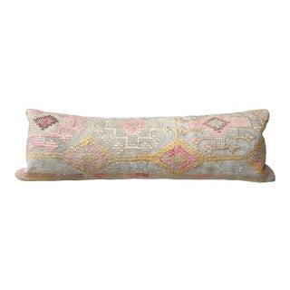 Mya Kilim Lumbar Pillow For Sale
