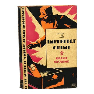 Vintage Crime Mystery Novel With Art Cover For Sale