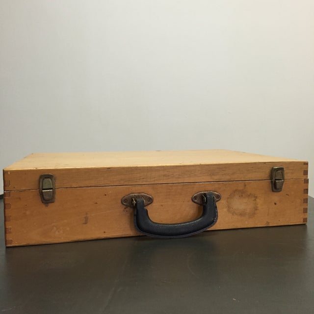 Vintage Artist Box With Collage Interior - Image 6 of 8