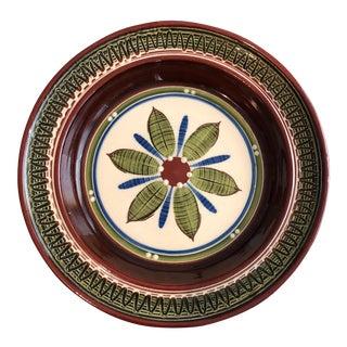 1960's Pottery Hanging Platter
