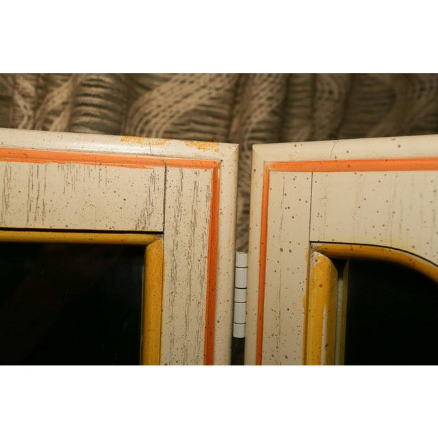 Mid-Century Tri-Fold Mirrored Screen For Sale - Image 10 of 11