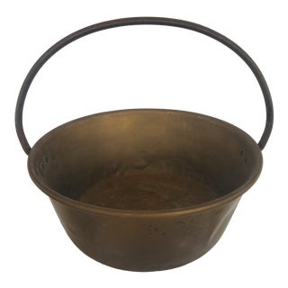 Vintage Americana Copper and Brass Bucket