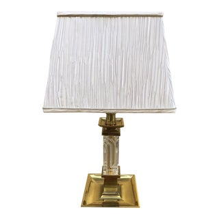 Brass Lamp by Stiffel For Sale