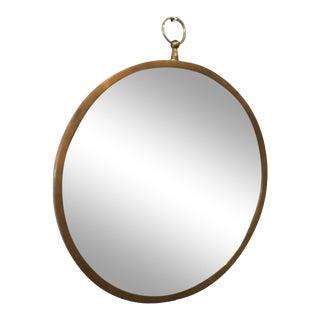 Piero Fornasetti Style Opi Art Wall Mirror Op