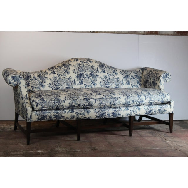 20th Century Chippendale Style Sofa For Sale In Los Angeles - Image 6 of 6