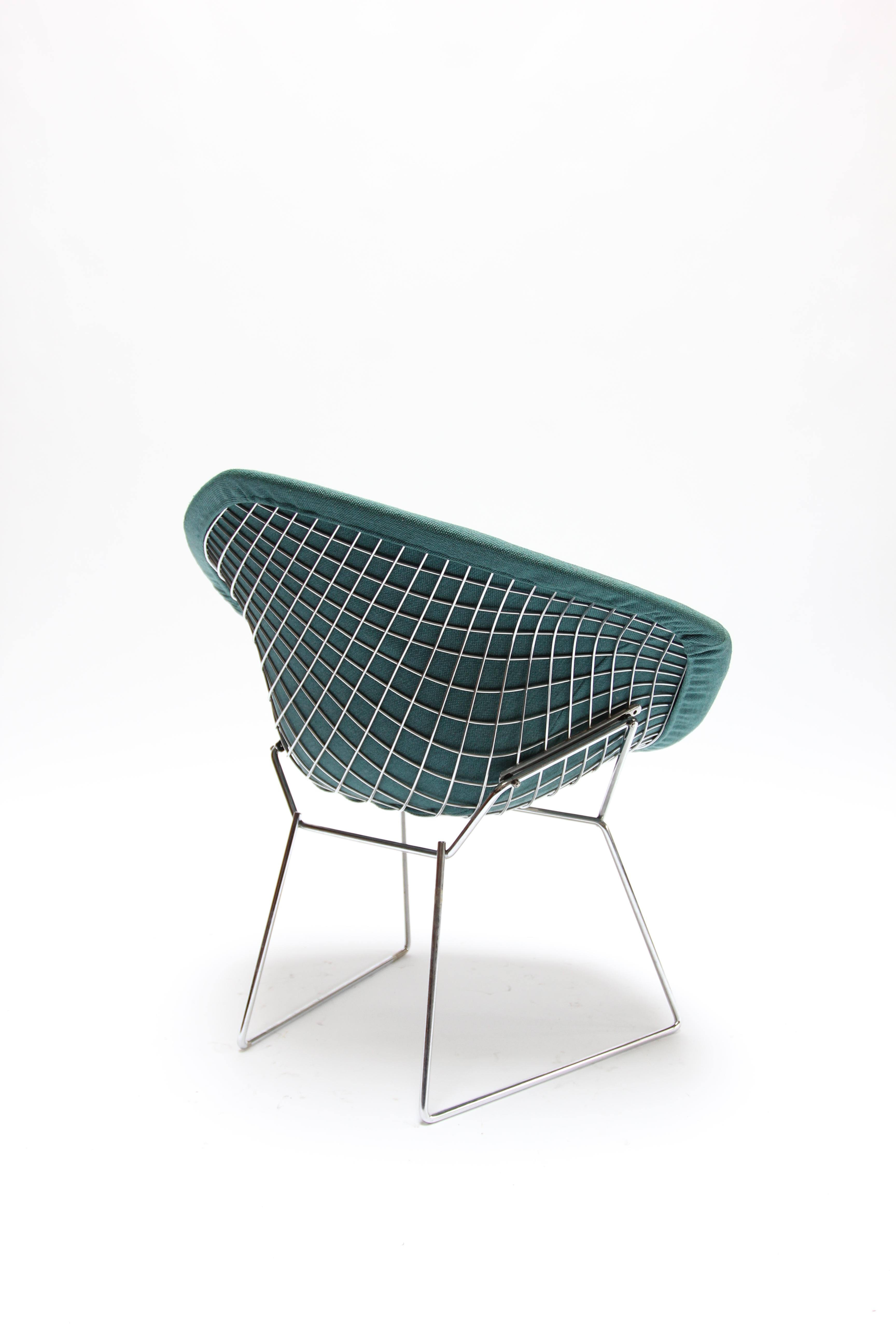 Vintage Knoll Bertoia Diamond Chair For Sale   Image 5 Of 11